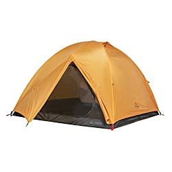 TETON Sports Mountain Ultra Tent; 3 Person Backpacking Dome Tent for Camping; Yellow (2007YL)