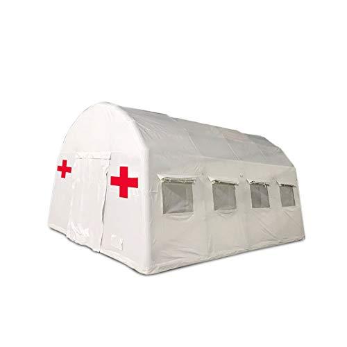 DZWJ Tenda Bianca di Salvataggio di Emergenza Medica, Tenda di stoccaggio del Materiale di Salvataggio Medico, Ospedale Gonfiabile Mobile