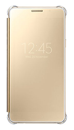 Samsung Clear View Cover für Galaxy A5 (2016), gold