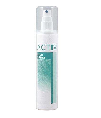 gfh ACTIV SILK Spray 200ml strahlender Glanz - für Echthaarperücken, Echthaarteile, Haarsysteme, Toupets, Wig, Perücken Echthaar, Haarverlängerungen, Extensions