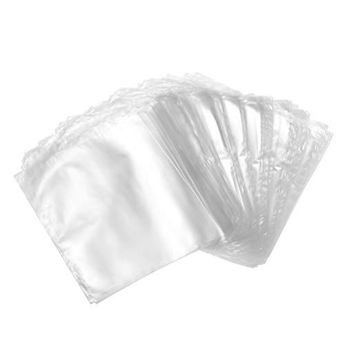 Supvox 200 stücke schrumpffolie taschen für geschenke verpackung diy projekte bad bomben seifen l