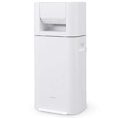 アイリスオーヤマ サーキュレーター衣類乾燥除湿機 ホワイト/グレー IJD-I50-WH