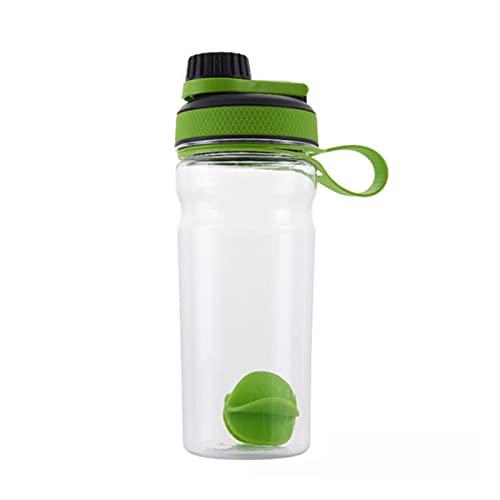 Shaker Flaska Shaker Bottle Whey Protein Pulverblandning Bottle Sport Nutrition Protein Shaker Fitness Vattenflaska Skaka Mixern (Color : Light Green 700ml)