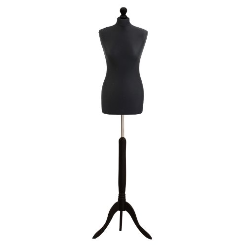 Used, Female Tailors Dummy Black Size 8/10 Dressmakers Fashion for sale  Delivered anywhere in UK