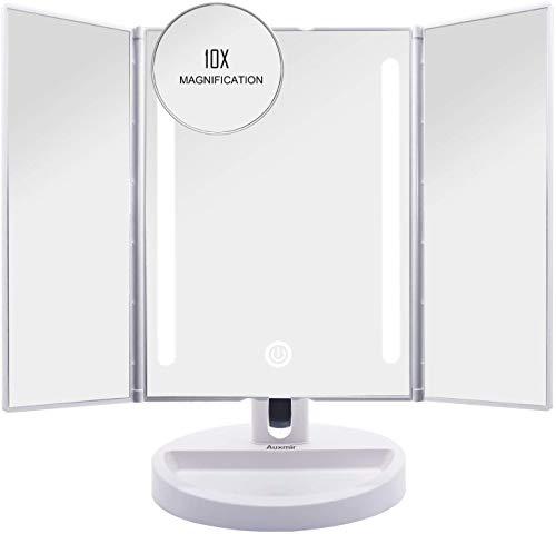 Auxmir Kosmetikspiegel mit LED Licht,...