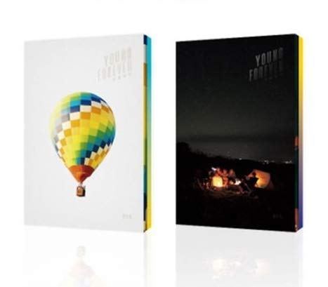 BTS Bangtan Boys - Young Forever (Special Album) [Random Ver.] 2CD+Photobook+Photocard+On Pack Poster+Double Side Extra Photocards Set