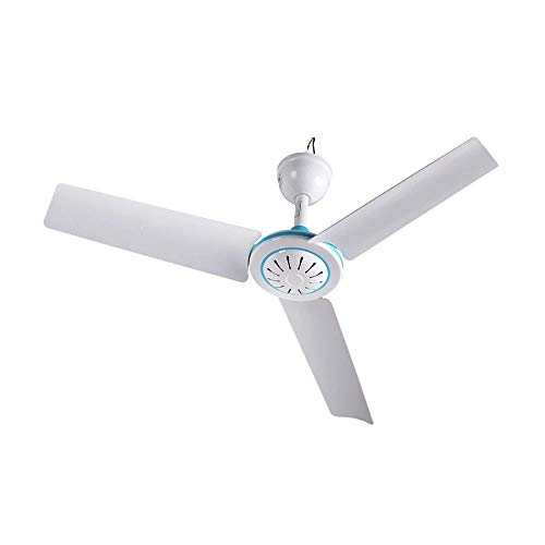 12V DC 19.7' inch Ceiling Fan With Switch Outdoor Camping fan For 12V Battery Power