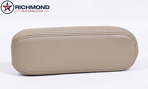 Richmond Auto Upholstery Compatible with 2000 2001 2002 2003 2004 Ford F-250 F-350 Lariat Driver Side Armrest Cover, Tan