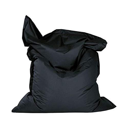 Bequeme faul Sofa, das letzte große wasserdichte Sofa, Docht Baumwolle, kein Liner, EIN Wohnzimmer, einen Sitzbereich, Tatami Sofa zu Hause (Color : Black)