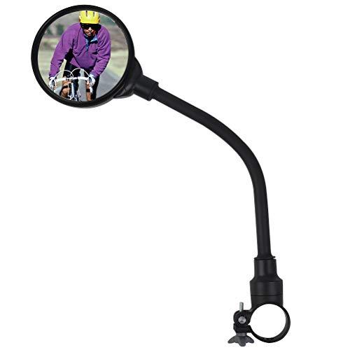 THETHO 1 PCS Rétroviseur de Vélo Miroir de Vélo 360° Réglable Miroir Rotatif Universel pour...