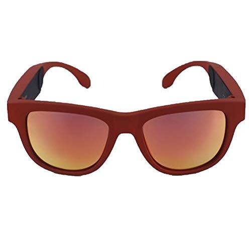 lunettes de soleil avec verres polarisés, casque et lunettes de soleil combinés, connexion Bluetooth et audio, adaptées aux hommes et aux femmes, adaptées à la conduite, au cyclisme et aux affaires