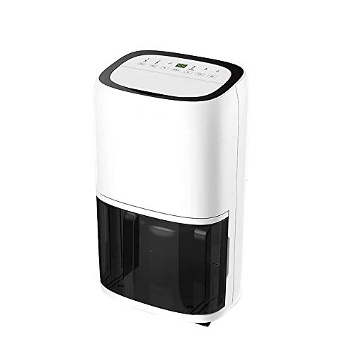 Buy SMLZV Electric Dehumidifier Digital Display Quiet Portable Dehumidifier for Bathroom Dorm Room B...