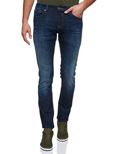 Tommy Jeans Herren Scanton Jeans, Dark Comfort 933, 29W / 36L