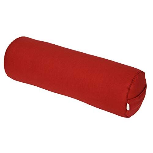 Bolster Yoga/Pilates/Rotolo Yoga Basic, bordò