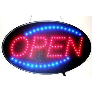 Ultra Bright Open LED NEON Sign with ON/Off Animation + ON/Off Switch +Chain Exclusive Sign 22