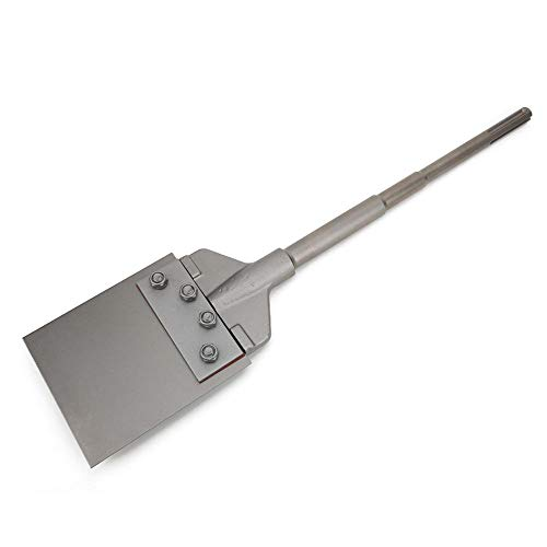 6 inch Floor Scraper,Tile Removal Bit Steel Adhesive Remover Scraper,Tile Scraper Floor Wall Scraper,for Removing Thin-Wall Adhesive