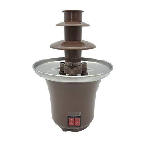N / C Exquisita máquina de Fuente de Chocolate eléctrica, Kit de...