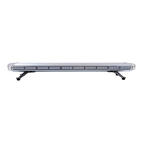 "88 LED Amber 47"" Inch 15 Modes Roof Top Beacon Emergency Strobe LED Light Bar"
