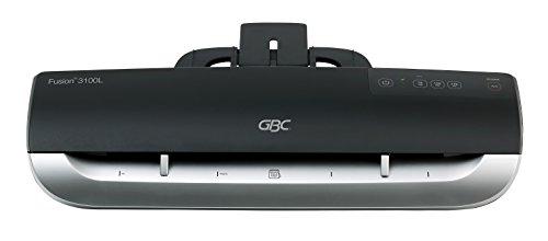 GBC Laminiergerät A3, Fusion 3100L, Ideal für Büros, nur 1 Minute Aufwärmzeit, Schwarz/Silber, 4400750EU