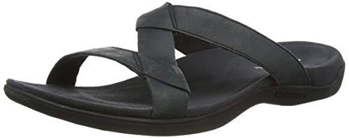 Merrell Damen District Kanoya Slide Sandalen, Schwarz (Black Black), 39 EU