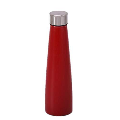 NYCROSSER thermoskan van roestvrij staal, dubbelwandig, BPA-vrij, vacuüm-isolatie, sport, fitness, gemakkelijk te reinigen 500 ml