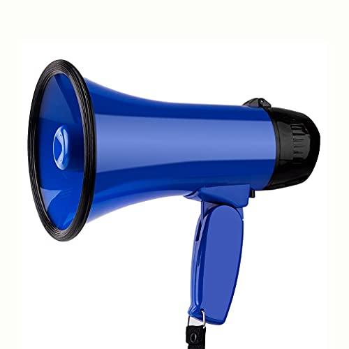 UOEIDOSB 25W Portátil Altavoz Megáfono Strap Grip Trouspeaker Grabar Play Horn Guide...