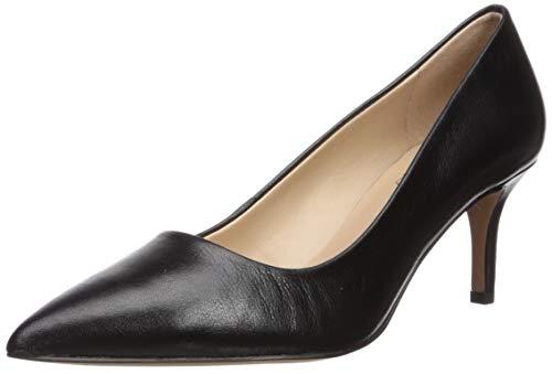 Price comparison product image Franco Sarto Women's L-Tudor Pump,  Black Leather,  8 M US