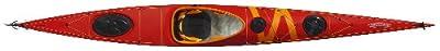 BAYSPIRIT RS 17.25ft Tahe Marine Composite Sit-In Sea/Touring Kayak, Orange/Yellow,
