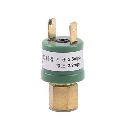 MAXIAOQIN MXQIN Klimaanlage High Low Pressure Sensor Controller 10mm Schutz-Offen-Schalter Luft Kompressor-Wärmepumpe Teile 2.2mpa2.8mpa Kann eine bessere Klimaanlage Teile ersetzen