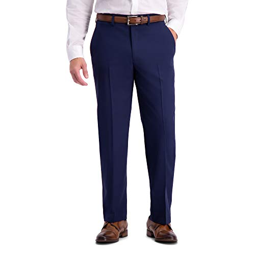 Dockers Men's Stretch Suit Separate, Pant, and Vest, Blue Blazer, 48 Long