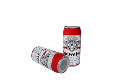 WearYourBeer Budweiser Beer Can Tall Boy Bluetooth Speaker Red, Medium