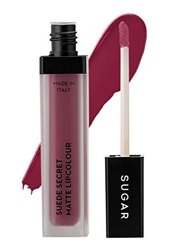 糖化妆品麂皮秘密哑光唇色02毛绒粉红色(深玫瑰粉红色),6毫升