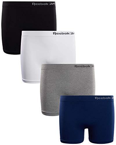 Reebok Girls Active Seamless Cartwheel Shorts (4 Pack), Size Large/12-14,