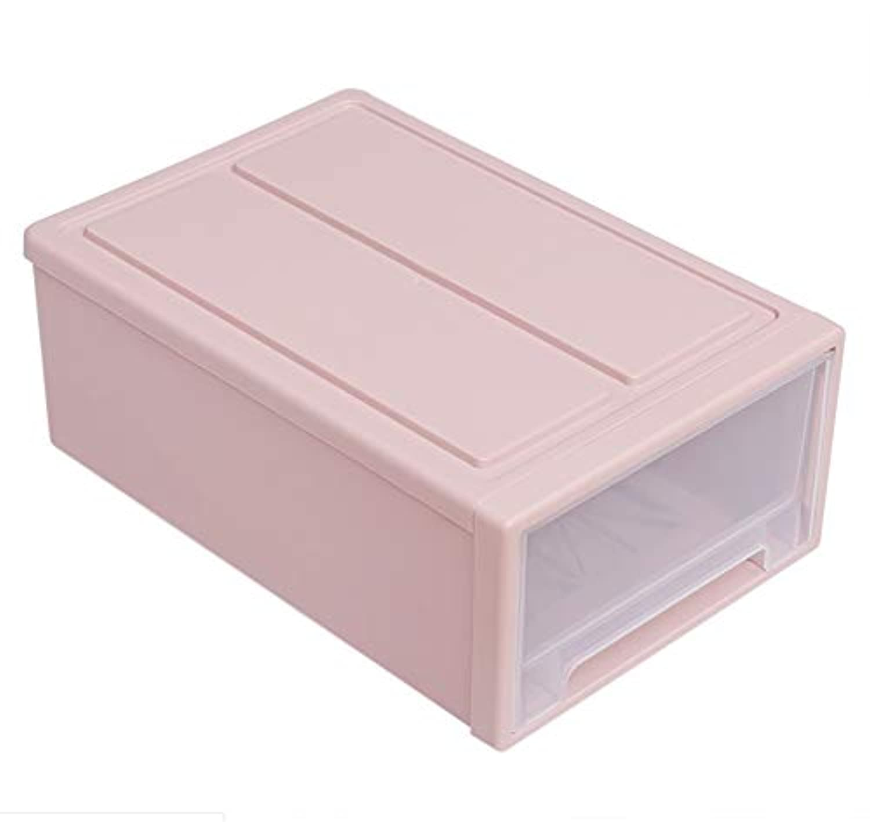 維持するロッカーむちゃくちゃ組み合わせは透明なプラスチック製の引き出しのコンセントボックスを重畳することができ、衣類や靴はワンピースレセプタクル