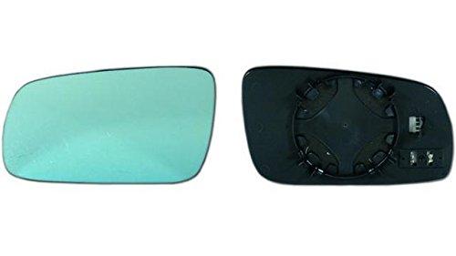 Verre + base gauche Aud. A3 (96 = > 00) plat bleu thermique grande grande