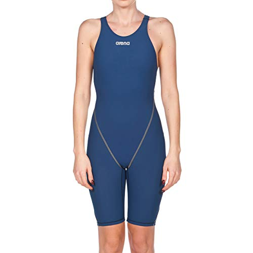 Arena W Powerskin St 2.0-Open Back, Costume da Bagno Donna, Blu (Navy), 44