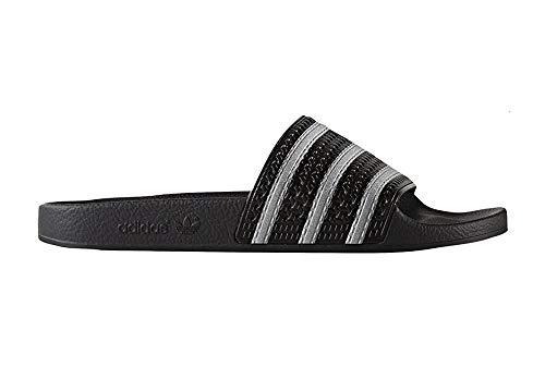 adidas Adilette, Zapatillas de Deporte Unisex niños, Negro (Negbas/Negbas/Negbas), 35 EU