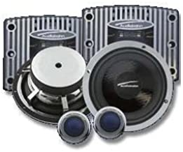 "Audiobahn ABC4002Q, 4"" (10cm), 2-Way Carbon Compo System, 120Watt RMS"