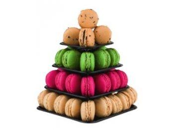 Plastella Mini-Pyramide 48 Macarons