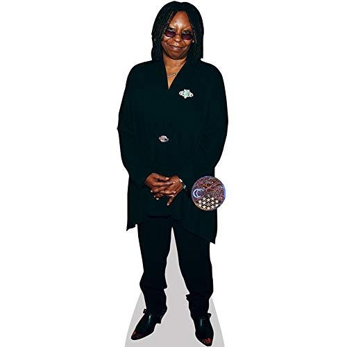 Whoopi Goldberg (Black Outfit) Mini Cardboard Cutout