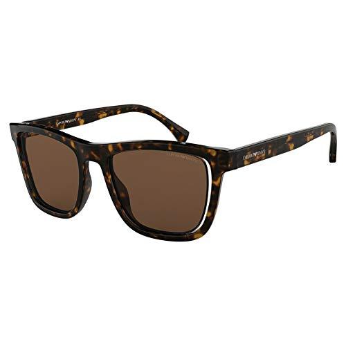 Armani EA4126F 508973-51 - Gafas de sol con montura Havana, color marrón EA4126F-508973-51