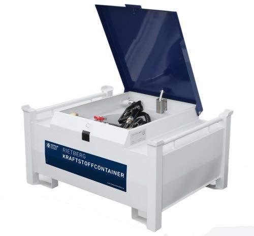 Rietberg 200 Liter Kraftstoffcontainer CONTY eco - Mobile Tankstelle für Diesel Zählwerk ohne Zählwerk, StyleName Elektropumpe 12/24V