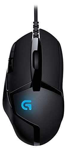 Logitech G402 - mice (USB, Cable, Gaming, Right-hand, Black, PC)