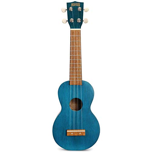 Mahalo MK1 TBU - Ukelele Soprano, color azul