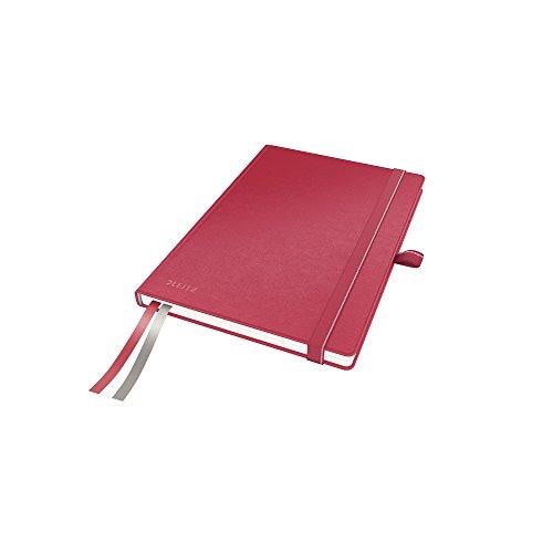 Leitz 44770025 Complete Notizbuch, A5, kariert, rot
