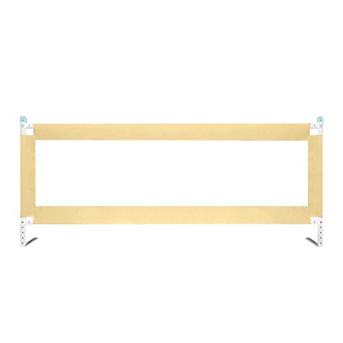 MYYINGBIN Draagbare Bed Rail Voor Peuters 5 Hoogte Verstelbare Kids Veiligheidsrek Kind Bumpers Met Lock Vangrail Voor Reizen, 1 stks, 180 cm