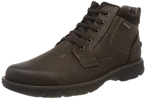 Salamander Men's Benno-Goretex Ankle Boot, Brown, 6.5