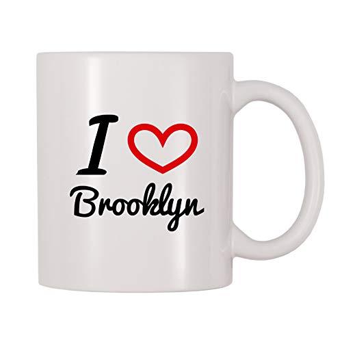 4 All Times I Love Brooklyn Coffee Mug (11 oz)