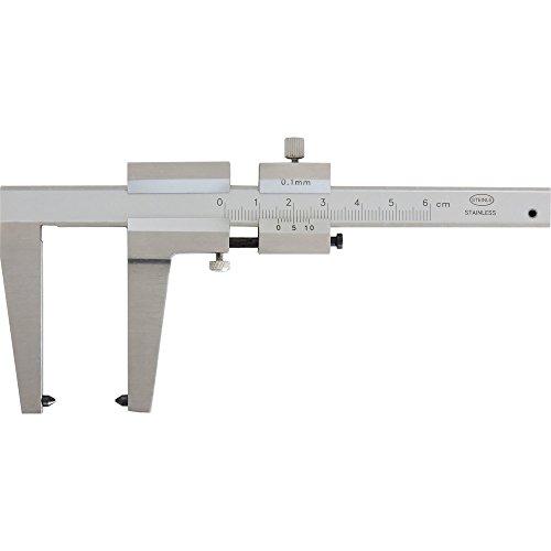 STEINLE Bremsscheiben Messschieber 1509 0-50 mm Schnabellänge: 50 mm mit Feststellschraube, Ablesung: 0,1 mm