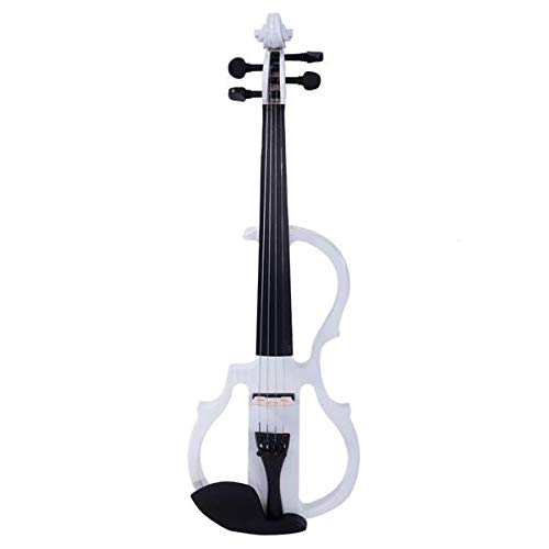 AUTOKOLA HOME 4/4 Electric Silent Violin Case Bow Rosin Headphone...